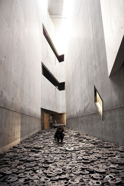 Daniel Libeskind  | Berlin Jüdisches Museum - amazing, never thought one could combine functionality and emotion in architecture, but Liebeskind did it. Bravo!