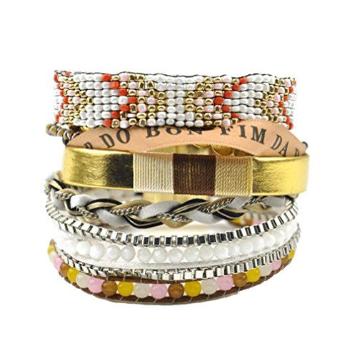 Grand Womens Bohemian Seed Beads Multi-layers Bracelet Cu... http://www.amazon.com/dp/B01FOBEIZC/ref=cm_sw_r_pi_dp_6A9nxb196QX6J