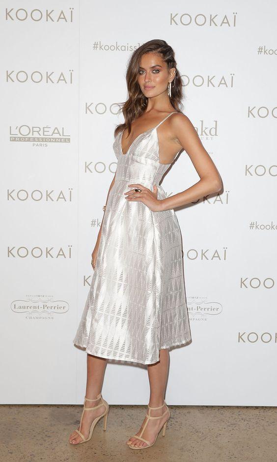 Talia Richmond.. KOOKAI Spring 2015 Cherokee Dress and Brazillia Heels..