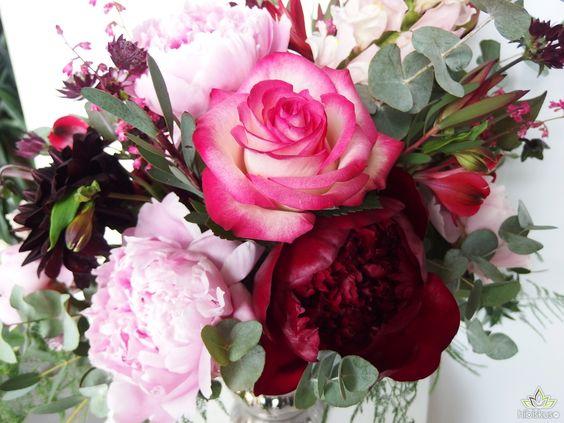 dekoracje ślubne z peoniami w kolorze #marsala #dekoracje #ślub #slub #slubne #kwiaty #peonie #peonies #peonia #wedding #decoration #weddingideas #flowers #flowerideas #weddingdecorations