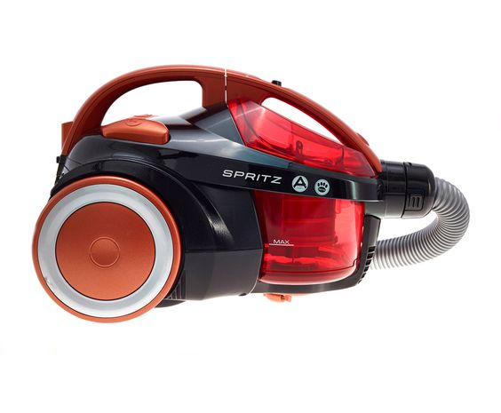 Hoover Spritz SE81SZ03001 Bagless Cylinder Vacuum Cleaner with Pet Hair Removal