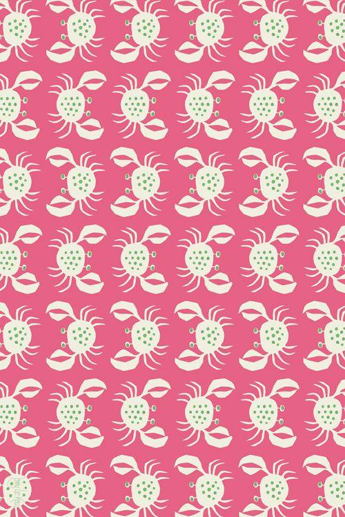 """Crancod Floor Cloth: Pink CR-P - 45""""X30"""""""