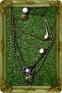Dice Designs--The golf necklace... supa cool!