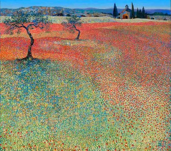 TOM DUBBELDAM Landscape oil painting