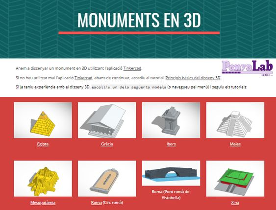 Monuments 3D i realitat virtual