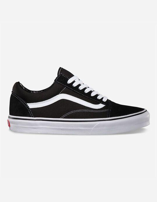 VANS Old Skool Black \u0026 White Shoes