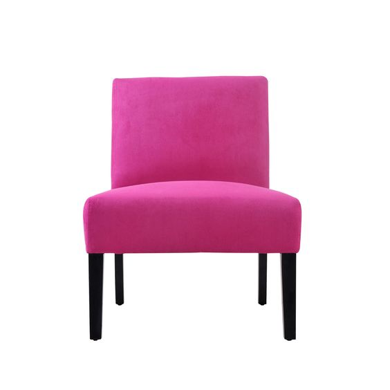 Hot Pink Magenta Accent Modern Chair Manhattan Furniture