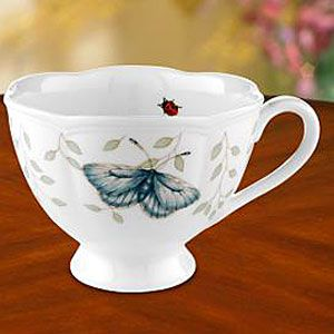 Lenox Butterfly Meadow: Meadow Dinnerware, Butterfly Kisses, Teacup Butterfly, Cups Saucers, Lenox Butterfly Meadows, Tea Cups, Teapots Teacups, Meadow Cup
