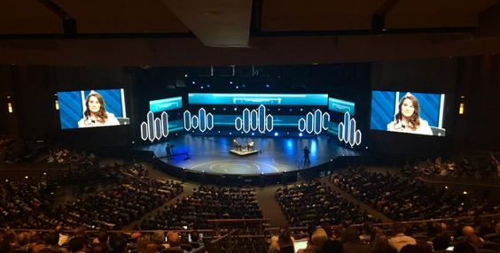 We attended the Global Leadership Summit in August at Willow Creek Community Church to hear Melinda Gates speak on maternal health around the world.