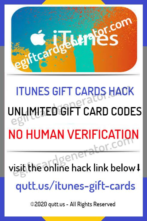 Itunes Gift Code Generator Is 100 Free It Generate Valid Gift