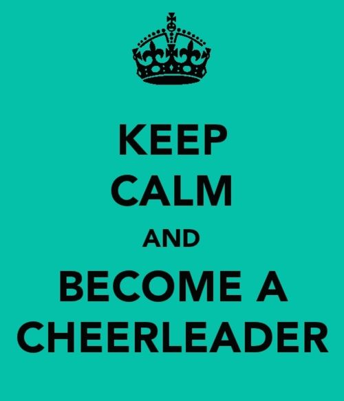 Cheerleader?