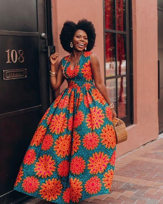 Ankara Dress African Clothing African Dress African Print