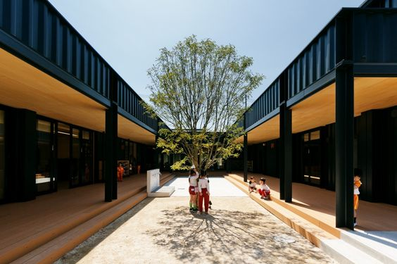 As building of kindergarten that welcomes 50 th anniversary has not been earthquake resistant sufficiently, an urgent measure was required. We decided that ...
