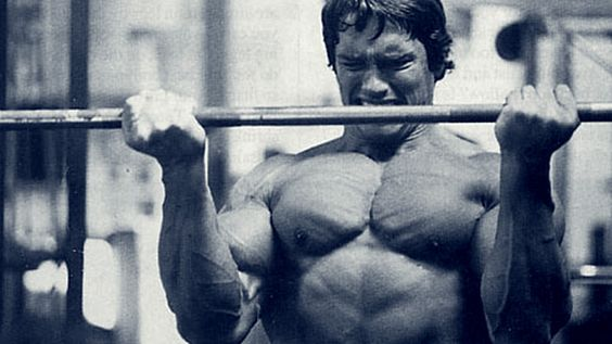 The Strict Curl... Arnold Schwarzenegger Curling Max