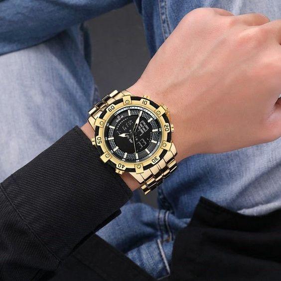 Relógio Masculino Golden Hour Zeus - Dali Relógios