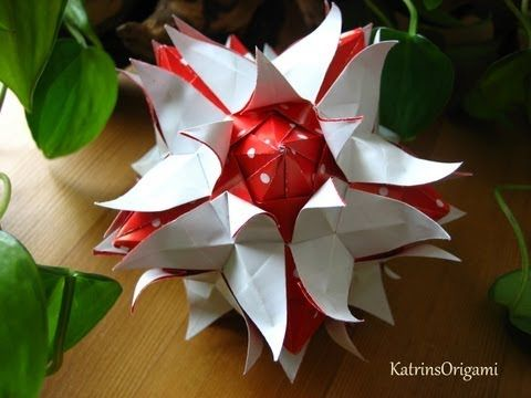 Origami ჱܓ Rio Rita ჱܓ Kusudama
