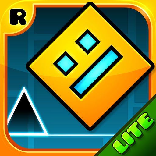 Geometry Dash Lite By Robtop Games Ab Is A New App From Your Search Geometry Dash Lite Geometry Dash Image