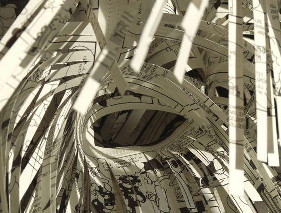 Bem Legaus!: Luzes de papel