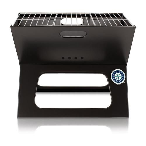 Seattle Mariners Portable BBQ Tailgating Grill & Case