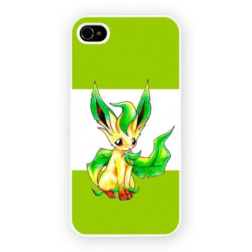 Pokemon Leafon iPhone 4/4S and iPhone 5 Cases