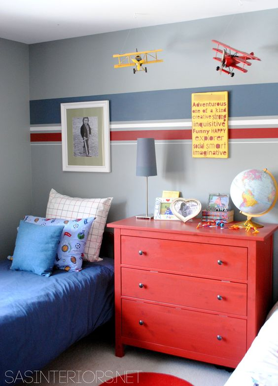 Boy Bedroom - Children's - Bedroom - Images by SAS Interiors | Wayfair