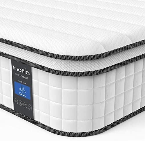 Amazing Offer On Queen Mattress Inofia 10 Inch Responsive Memory Foam Mattress Hybrid Innerspring Mattress Box Sleep Cooler More Pressure Relief Support In 2020 Memory Foam Mattress Foam Mattress Queen