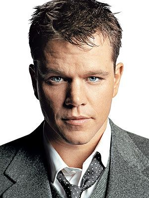 Matt Damon-  despite his droopy/lazy eye he is an incredibly sexy and awesome actor