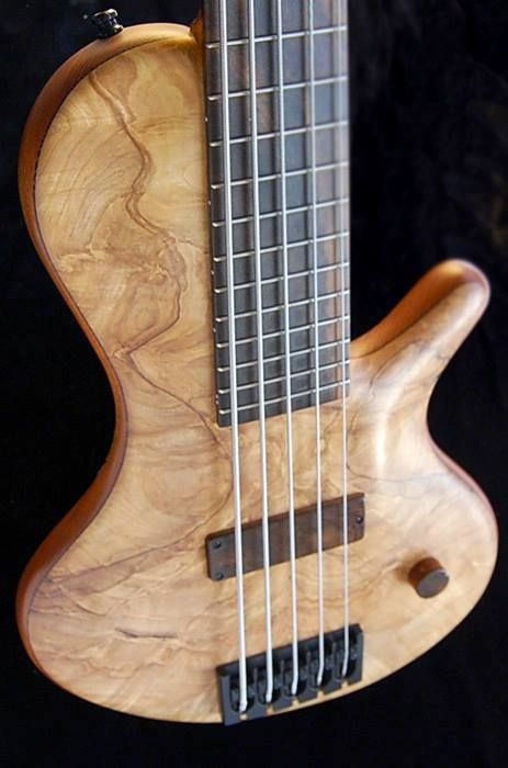 Adamovic 5 string Bass.