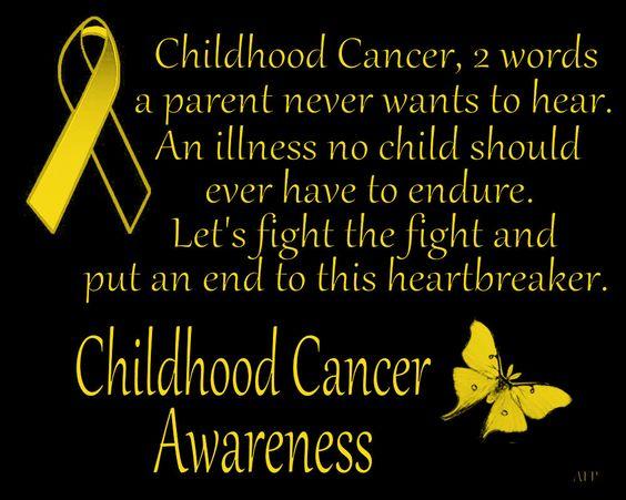 Childhood Cancer Awareness: