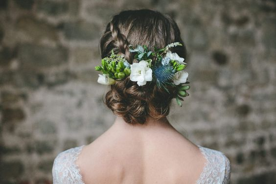 Nordic Winter Wedding Inspiration Shoot With Claire Pettibone Bridal Gowns Flowers From Campbell's Flowers And Images From Ellie Grace Photography