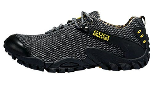 Peace Love Hike Mens Breathable Casual Sports Shoes