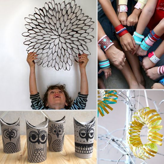 Supercool 9 cool crafts you can make with toilet paper for Cool paper projects
