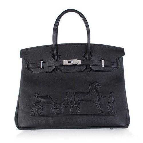 2012 Hermes Horse Embossed Birkin 35 Tote Bag Calf Leather Silve [HERMES 00309] - €379.00 : HERMES ONLINE!