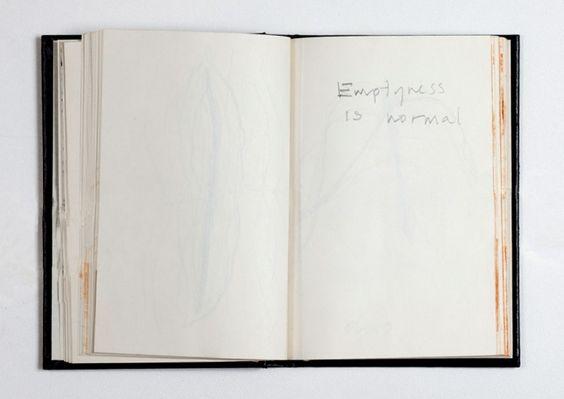 Anish Kapoor Sketchbook Papier Zeichnungen Kunst