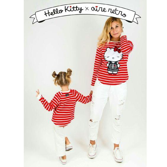 BOMBAAAAAAAAAAAAAAAHHHH..!! Hello Kitty x aire retro.  Ya en www.aireretro.es   #aireretro #hellokitty #sudadera #sweatshirt #cantabria #ootd #otoño #autumn #ilustración #diseño #illustration #design