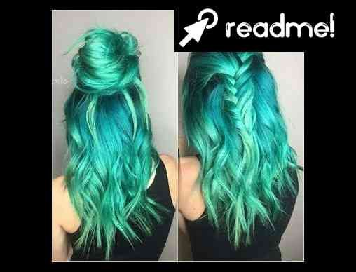 Blue And Green Hair Dye Mixed Youtube Mrshairdesing Green Hair Dye Green Hair Dyed Hair