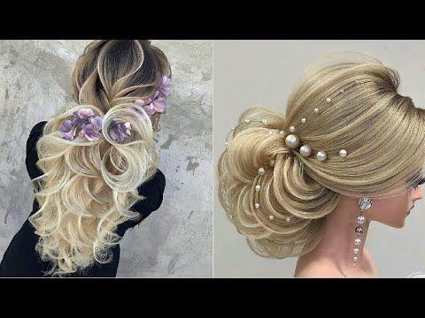 أجمل تسريحات شعر للعرائس والمناسبات 2020 تسريحات الشعر لااعراس والمناسبات تجنن 2020 Youtube Braids Youtube