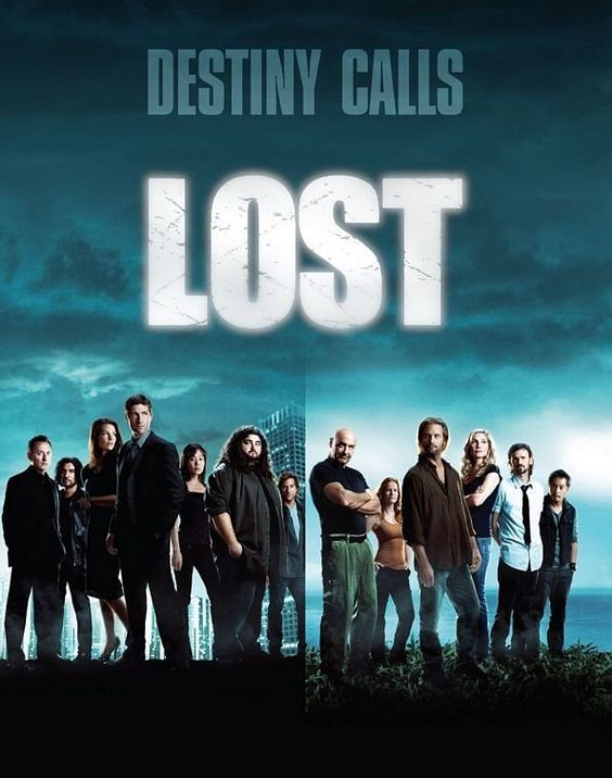 lost... movie-ish tv series.  very awesome