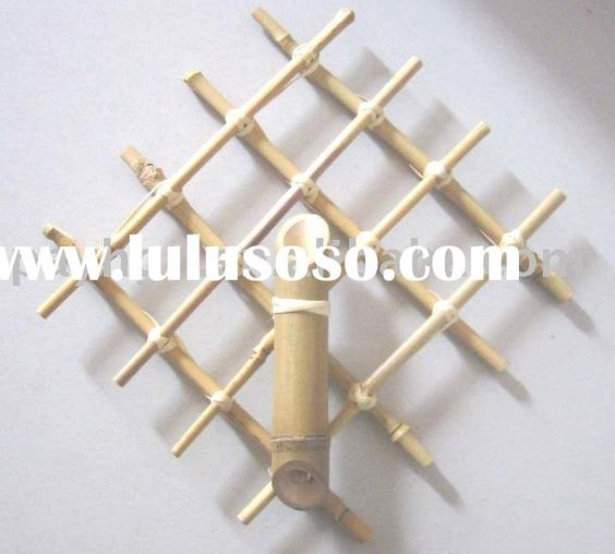 House decorations bamboo and bamboo crafts on pinterest for Where to buy bamboo sticks for crafts