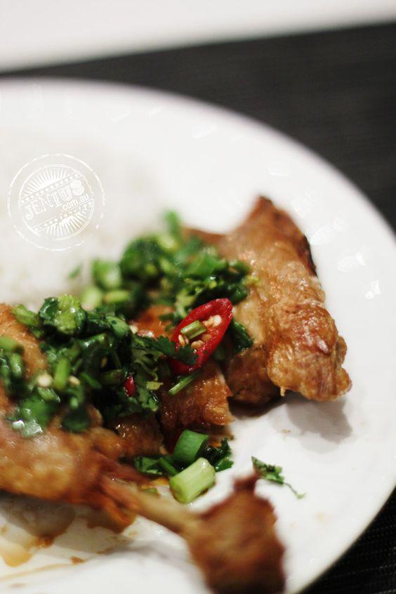 Shandong Chicken. Find the recipe here: http://www.iatemywaythrough.com/2011/01/shandong_chicken/