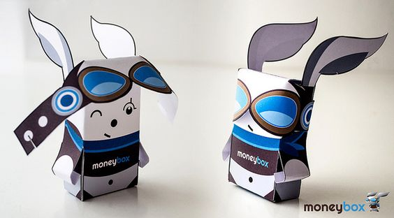 MoneyBox papertoy  more: maurusso.com/tagged/moneybox#/blog  Mau Russo