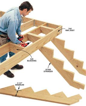 7 Deck Building Tips - Step by Step | The Family Handyman