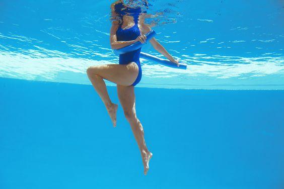 Ob im Sommer im Pool oder im Winter im Hallenbad: Sport im Wasser bringt jede Menge Spaß! Und das kühlende Nass hat einen verjüngenden Beauty-Effekt? #nivea #antiage