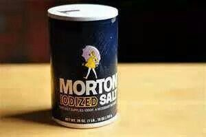 Salt takes out urine