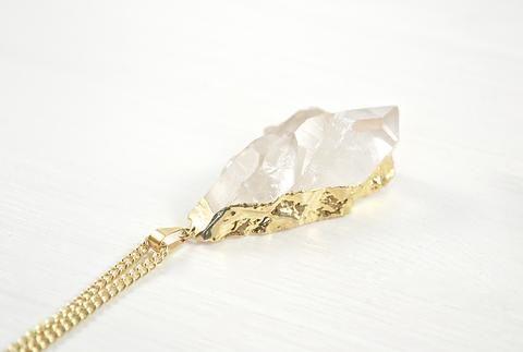 Bergkristallkette von Crystal and Sage