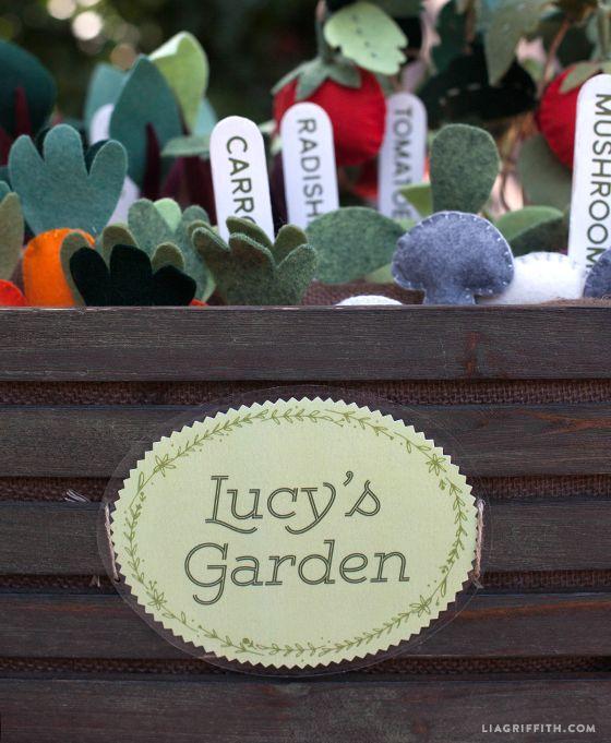 Printable Garden Sign and DIY Garden Markers