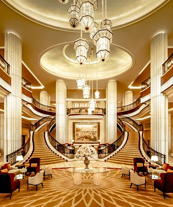 40 Luxurious Grand Foyers For Your Elegant Home: Wealth And Luxury