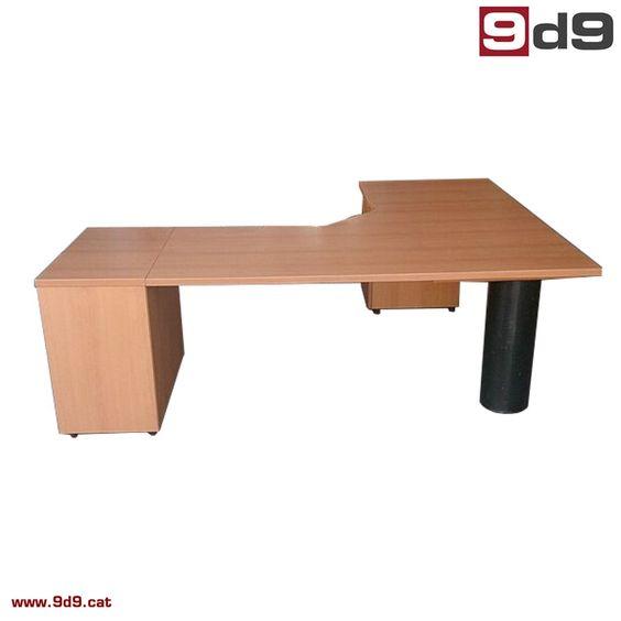 Mesa oficina 157010 mesa de oficina de segunda mano for Mamparas oficina segunda mano
