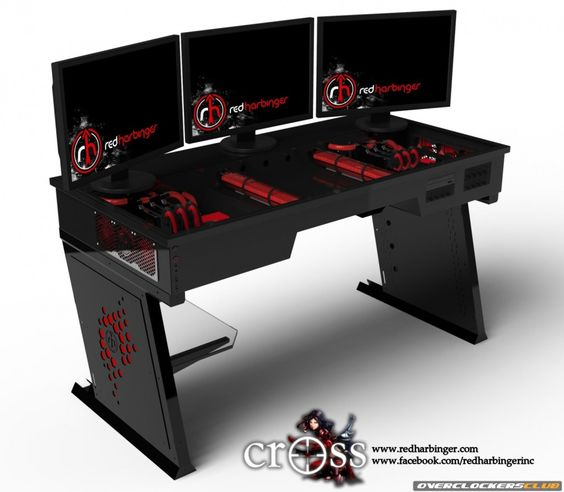 Pc Gaming Computer Desk                                                       …