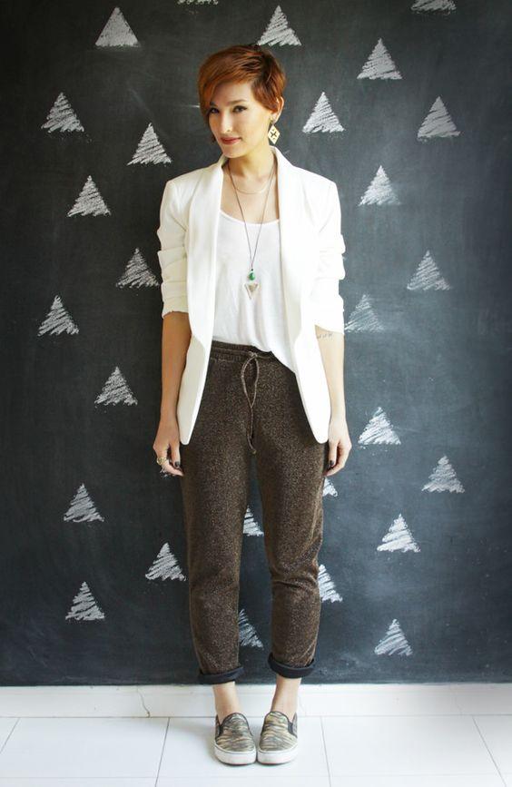 Look do dia: calça de lurex - Blog De repente Tamy Blog De repente Tamy: